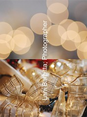 christmas diptych (Lani Barbitta) Tags: christmas decorations holiday happy nikon bokeh decoration explore ribbon 28 lani joyous christmasornaments 60mm28 d40 mostinterestingaccordingtoflickr nikond40 lanibarbitta barbitta