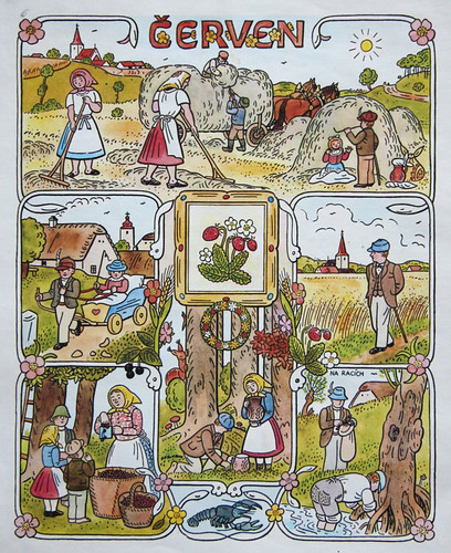 Josef Lada Calendar: June