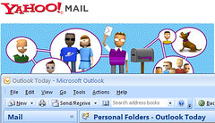 Yahoo mail and Microsoft Outlook
