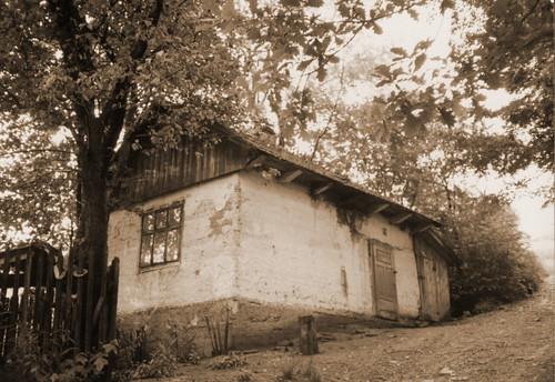 Burzyn - casa di una vecchia