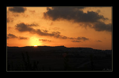 2007-10-Puesta de sol copia (Fotgrafo-robby25) Tags: clouds rainbow nubes storms wests ocasos dawns tormentas