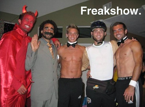 Dynamo Freakshow image for The Offside Rules