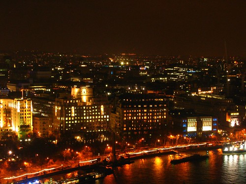 London - The London Skyline at Night