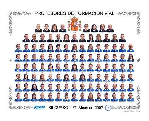 ORLA DE ANA DE PROFESOR DE FORMACIÓN VIAL: