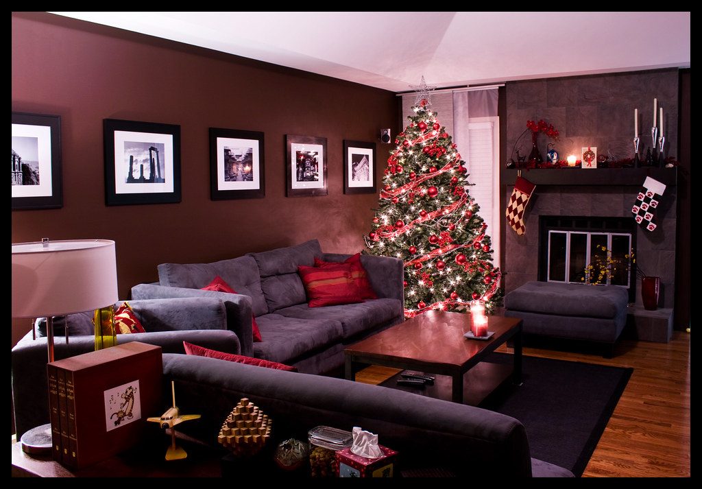 Christmas 2007 Living Room