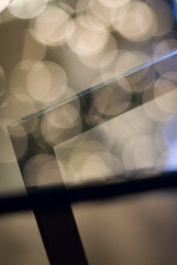 barcelona (Ansel Olson) Tags: abstract reflection glass nikon dof bokeh d200 coffeetable stg defocus ludwigmiesvanderrohe 85mmf14 barcelonatable silencis