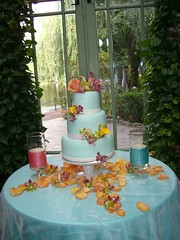 Teal Blue Cake Table (lisarunolfson) Tags: pink flowers wedding party brown white color love beautiful silver gold idea groom bride chair long arch candy desert teal unique decoration creative business event wreath gifts presents round dreams wishes tables twig service seating centerpiece canopy favor brilliant maypole lacaille childrenscenter