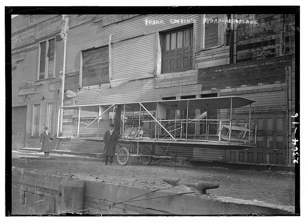 Frank Coffin's Hydro-Aeroplane.