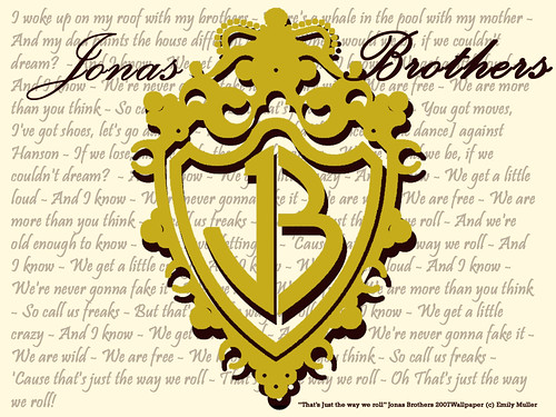 jonas brothers wallpapers. Jonas Brothers wallpaper