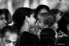 mother's privilege. | . (freebird (bobinson|)) Tags: india kerala portfolio motherhood motherandchild amma theyyam