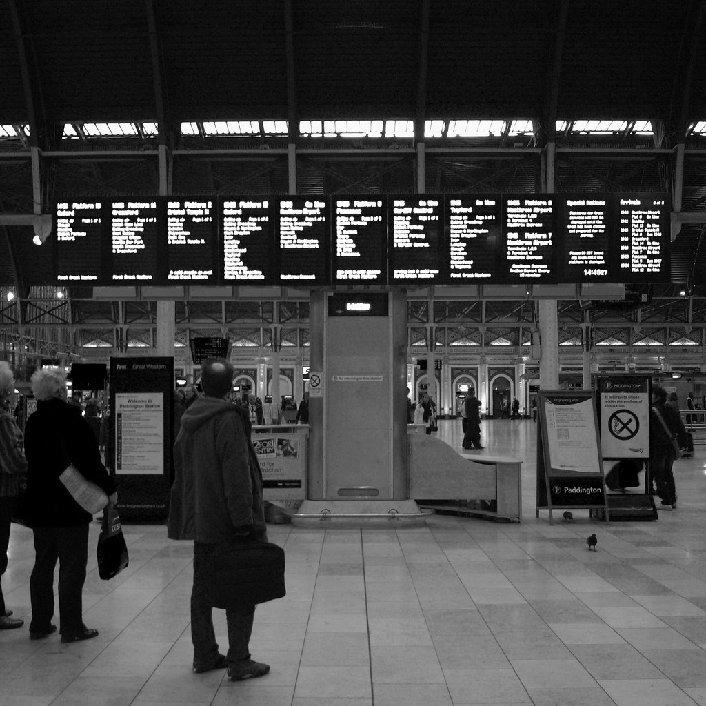 Paddington Station, London, New Years 2008