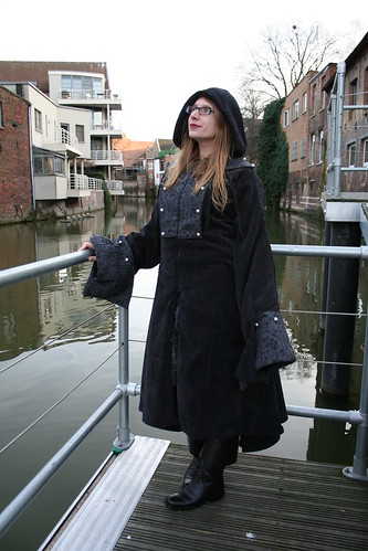 Winter pirate coat