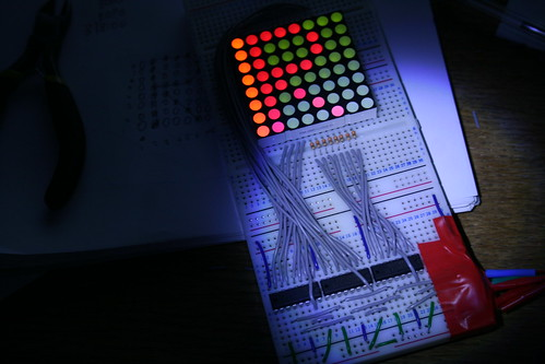 Arduino and 64 LED matrix