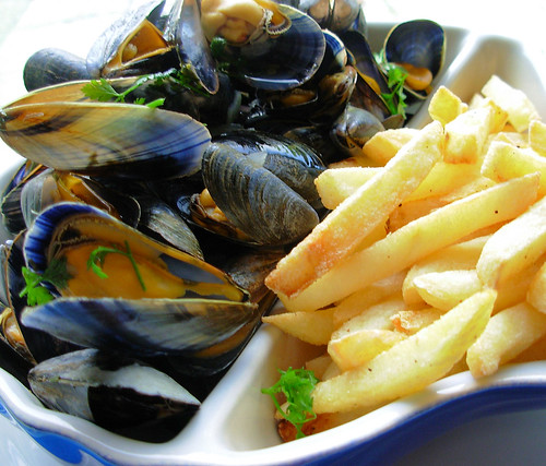 Moules Frites by French Tart