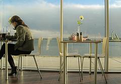 Denmark (_tonidelong) Tags: girl denmark restaurant eating jutland thisted jutlandia