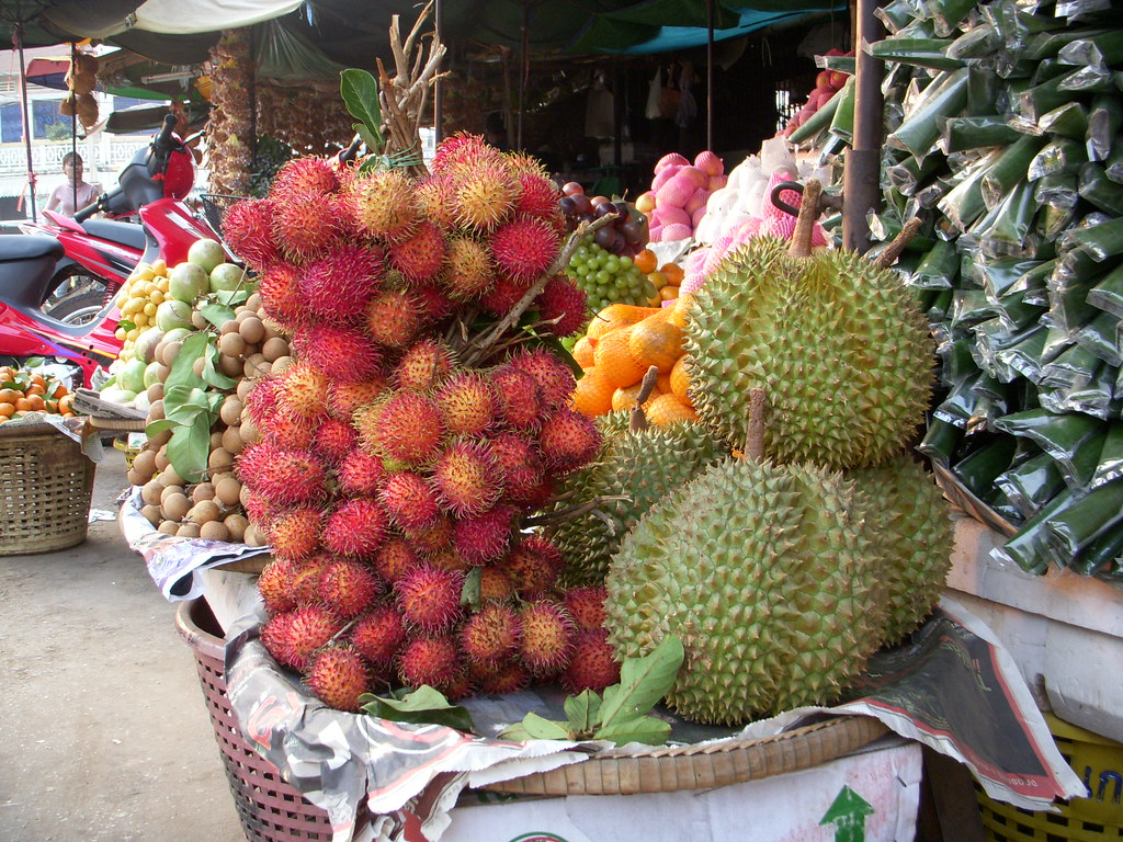 fruta con pinchos