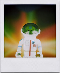 My God. It's full of toys. (tubes.) Tags: 2001 toy polaroid sx70 toys kubrick scifi spoof eboy peecol astronof