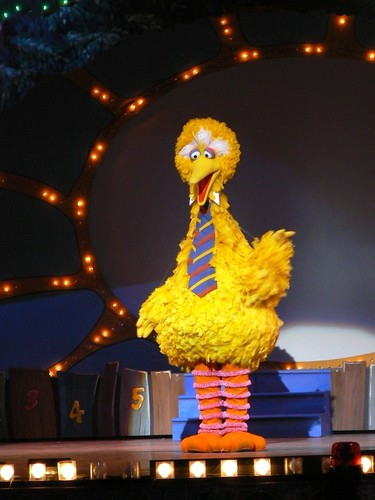 Big Bird - love the tie!