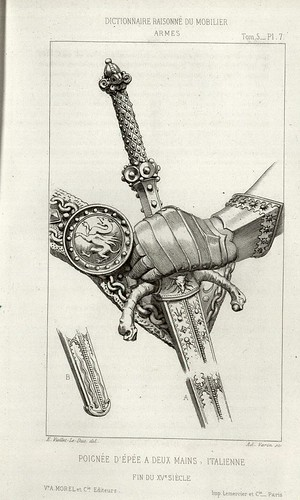 15th century sword hilt