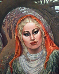 Orange Scarf (painting) The Woods (poem) (faith goble) Tags: portrait color art scarf painting woods artist acrylic poem photographer bluegrass kentucky ky faith vivid canvas blond creativecommons poet writer tacomaartmuseum bowlinggreenky goble firsthand womaninthewoods poetryandpicturesinternational bowllinggreen yourmasterpaintings originalpoem faithgoble sharingart grafixer ccbyfaithgoble gographix originalpainitingbyfaithgoble faithgobleart thisisky