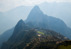 Machu Picchu in a Hazy Day, Peru