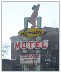 Lorraine Motel, where Dr. Martin Luther King, Jr. was shot. by whatsthediffblog, on Flickr