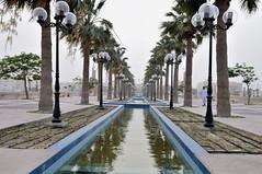 Al Khobar Waterfront, Dammam, Saudi Arabia (Mohd Azli Abdul Malek) Tags: travel perspective symmetry malaysia riyadh saudiarabia ksa khobar