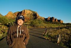 Kelloggs is feeling cold! (Jon Coronel) Tags: arizona nature outdoors sedona redrocks kelloggs