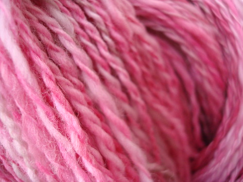 Handspun Strawberry Shortcake 001