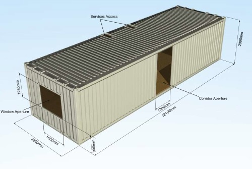 Verbus systems container fabricator livemodern your - Amenagement container maison ...