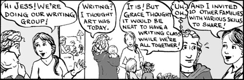 Home Spun comic strip #228