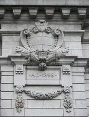 union station ornament, albany (suehawkins) Tags: architecture ornament unionstation albanyny