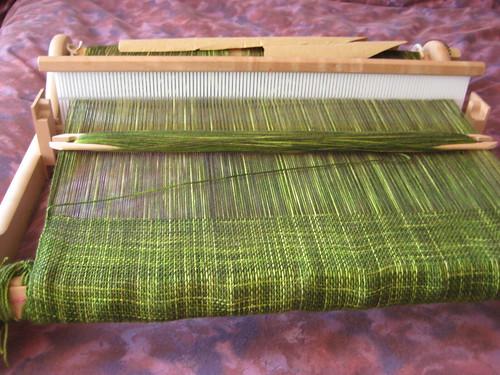 i'm weaving! i'm weaving!