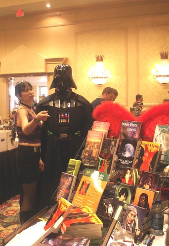 Carrassa Points Darth Vader to Aisling Press