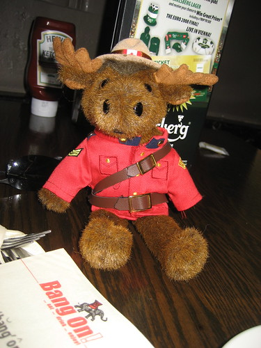 Sergeant RC Moose at your service