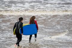 Ireland 2008 Surfing on Lehinch beach (ksvrbrg) Tags: ireland sea surfing coclare lehinch