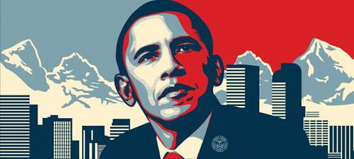 Barack Obama by 770, on Flickr