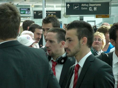 Ribéry, Klose, Contento