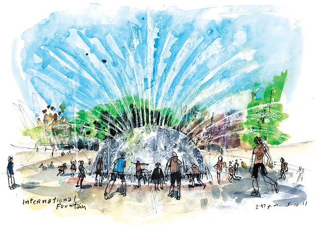 Seattle International Fountain