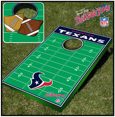 Houston Texans bean Bag Toss Game