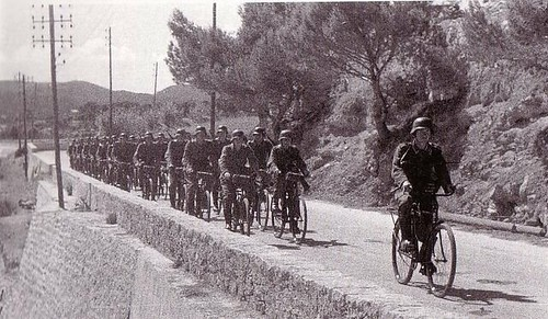bicycle infantry