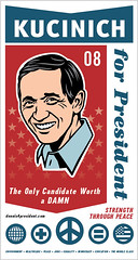 Dennis Kucinich Poster (pjchmiel) Tags: poster design president hillary hillaryclinton democrat obama johnedwards kucinich denniskucinich barackobama election08