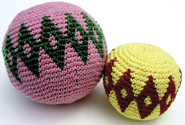 Ravelry Ball Hacky Sack Pattern By Carol Ventura