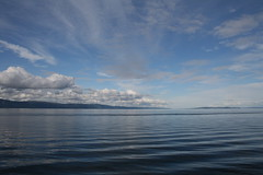 Trondheimsfjord August (julia_ho) Tags: blue summer water norway clouds norge fjord