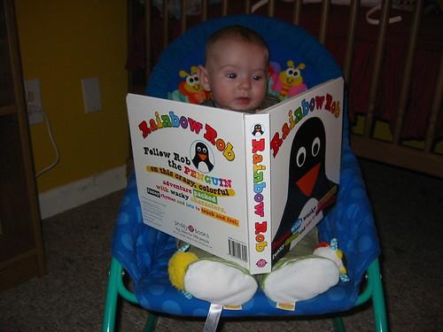 i like to read!