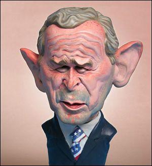 George W. Bush by Hermann Mejia