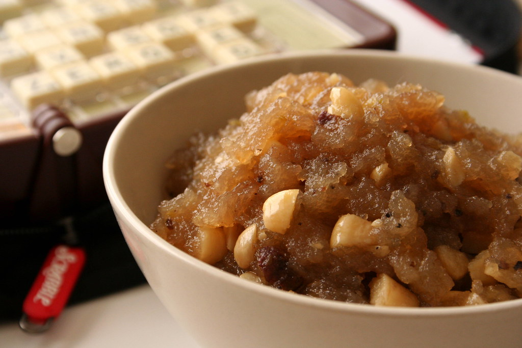 Wheat Halwa
