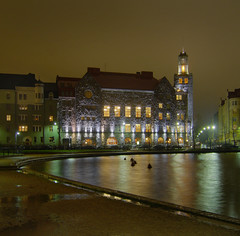... Paasitorni ([ Petri ]) Tags: night finland helsinki architect 1908 hakaniemi tokoinranta säästöpankinranta valaistus paasitorni hagnäs työväentalo karllindahl