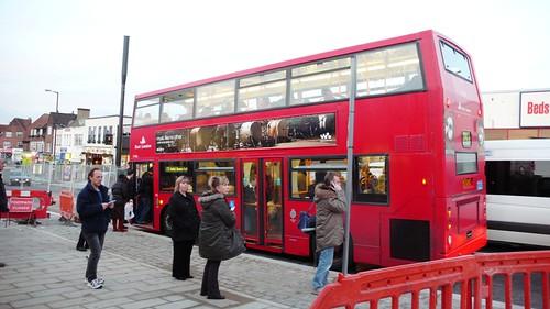 English Bus in Dagenham Heathway