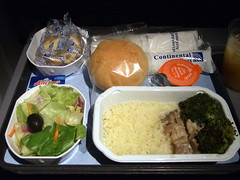 CO Continental Airlines In-flight Meal CO902  Guam-Cairns (GUM-CNS) ((^_~) [MARK'N MARKUS] (~_^)) Tags: continental co inflightmeal 500v continentalairlines fv1 fv1c